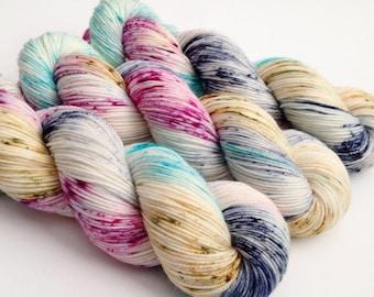 Dyed to Order - Abigail - Superwash Merino Worsted, DK or Fingering Sock Yarn  - Vivid Yarn Studio