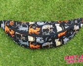 Cats Bumbag - waist band fits up to 110cm/ 43""