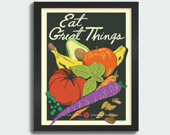 Eat Great Things - 11x14 Poster
