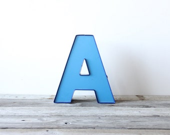 "Large ""A"" Sign Letter"