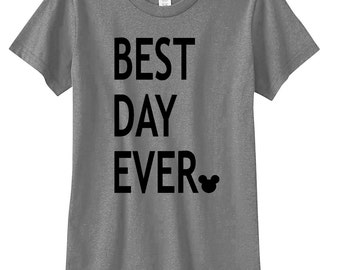 Best Day Ever Kids T Shirt