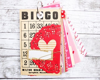 I Love You Valentine Book: DIY Mini Album Kit