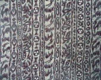 Kimono Silk Batik Stripes
