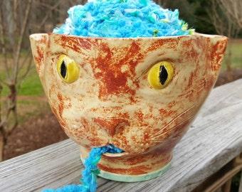 Yarn Bowl - Cat
