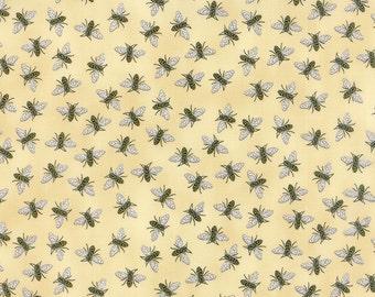 Bee Creative Honey Bees 19756 11 | Deb Strain Designer | Moda Quilting fabric