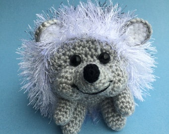 BABY HEDGEHOG PDF Crochet Pattern
