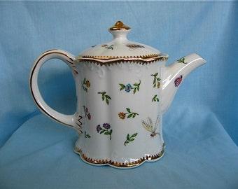 Vintage I Godinger Tea Pot