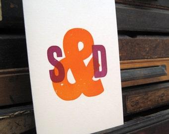 Letterpress Wedding Stationery Sample Pack - Hatton