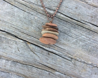 Stone Cairn Necklace