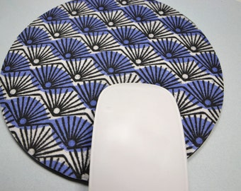 Buy 2 FREE SHIPPING Special!!   Mouse Pad, Fabric Mousepad    Book Fans