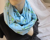 Beach Volleyball Cowl/Circle Scarf/Infinity Scarf (5373)