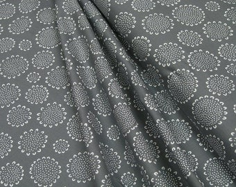 Robert Kaufman • Blueberry Park AWI-15749-305 GRAPHITE • Cotton Fabric 0.54yd (0.5m) 002848