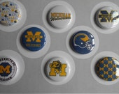 University of Michigan Flair Buttons-YOU CHOOSE STYLE