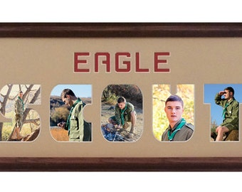 Eagle Scout Custom Photo Mat 8x26 (mat only)