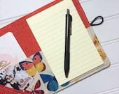 Mini Shopper - Notepad holder List taker - Butterfly Box