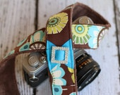 Camera Strap - Cute Camera Strap - dSLR Camera Strap - Floral Camera Strap - Padded Camera Strap - Digital Camera Strap - Gift for Her