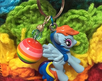 My Little Pony Keychain RAINBOW DASH