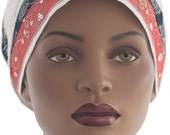 Wrap Scarf Loc Wrap Scarf Tichel Star Sparkle Natural Hair Wrap Cancer Scarf Haircovering Jewish Headcovering