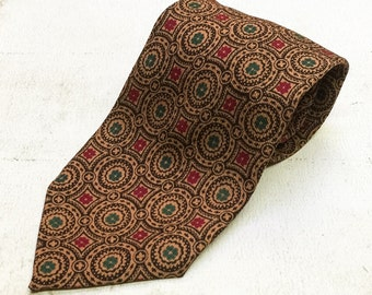Vintage Wool Tie Necktie Horchow Collection England
