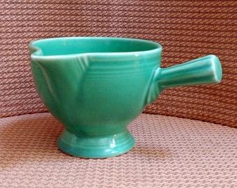 Vintage Fiestaware  Original Green creamer 1936-38