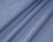 Sale - Smooth Denim Minky - By the Yard - Ships quick - Fabric