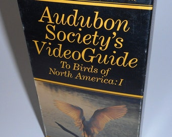 Audobon Society Video Guide To Birds of North America 1 Bird Watching VHS movie