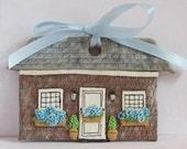 Nantucket Cottage Ornament