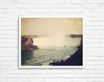BUY 2 GET 1 FREE Niagara Falls Photography, Waterfall Photo, Fine Art Print, Canada Art, Wall Decor, Home Decor, Ontario Print, Niagara