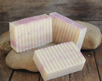 Hand Made Soap / Shampoo - Champagne & Strawberries Soap / Shampoo - Superfatted Soap - Handmade Cold Processed Conditioning Soap