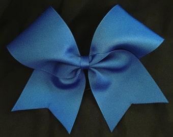 Custom Cheerleader Royal Blue Cheer Hair Bow