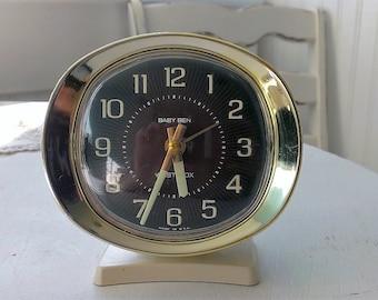 Vintage Clock Little Ben The Wild Raspberry