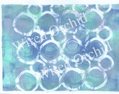 Laser Copy of Original Acrylic Artwork