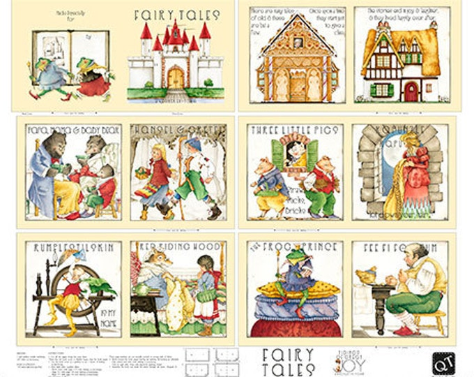 Classic Storybooks Fairy Tales Book by Janet Wecker Frisch for Quilting Treasures