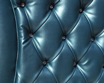 Teal Queen Size Tufted Upholstered Headboard Extra Tall Queen Headboard Tufted Headboard Queen Size Headboard Queen headboard Upholstered