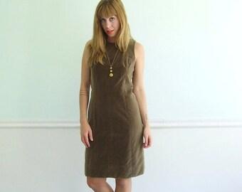 extra 30% off SALE ... Golden Apple Vintage 60s Sleeveless Velvet Mini Shift Dress - SMALL 2 4