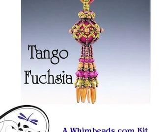 Tango Necklace Kit  - Raspberry