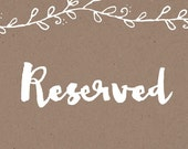 Reserved Post