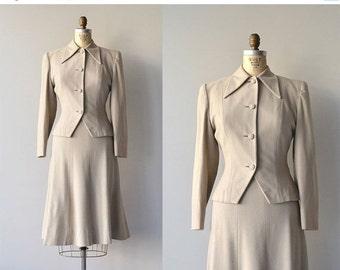 25% OFF SALE Wheatstone wool suit | vintage 1950s suit | wool 50s suit