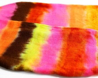 Sock Blank/ DESERT ROSE 463 yards on 'Posh' Sock Yarn, merino hand painted fingering