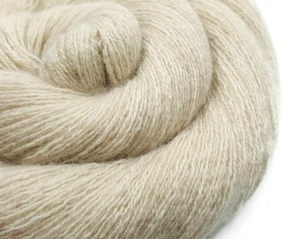 Pure Cashmere Yarn - Recycled Lace - Cashmere Yarn - Oatmeal 60216