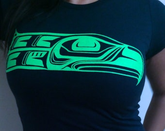 Totem Seahawk tee or sweatshirt (by SSS)