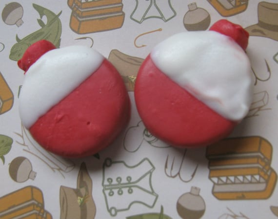 One dozen fishing bobber chocolate covered sandwich cookie party favors