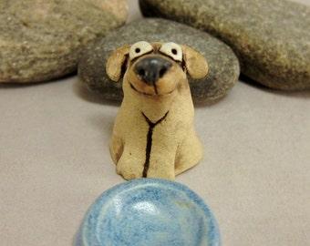 Lulu...Miniature Dog in Stoneware