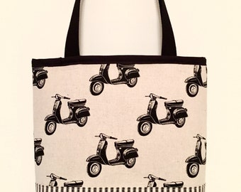 City Tote Bag  - Scooters