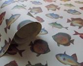 9x12 Italian Fish Paper - Qty:4