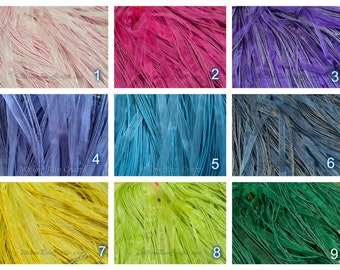 """50 Organza Ribbon Cord Necklaces  24"""" Length, You Pick Your Colors."""