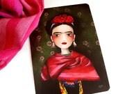 30% Off Halloween Sale - Frida - Postcard
