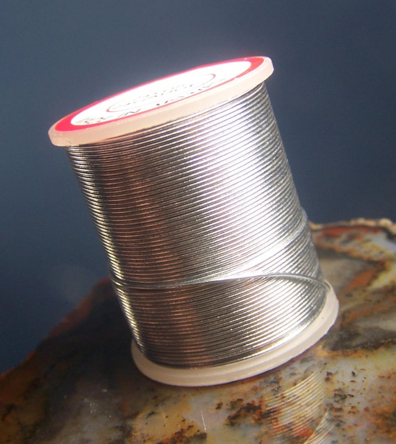 72 feet silver craft wire 24 gauge 24 yards full spool for 24 gauge craft wire