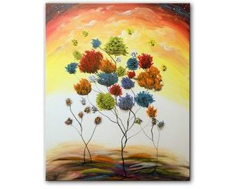 22 x 28 Lollipop trees !