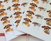 Huge Sale Planner Stickers 30 Dog Grooming Scrapbook Stickers Day Planner Stickers Life Planner Stickers